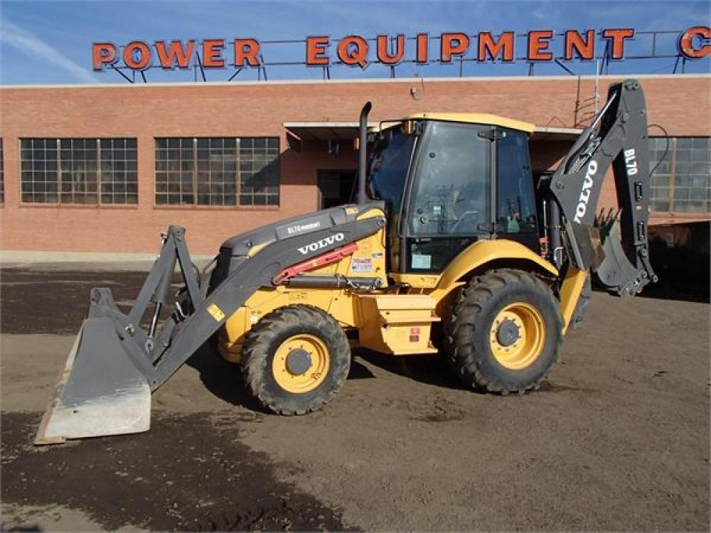 Detail photo of 2011 Volvo BL70 from Construction Equipment Guide