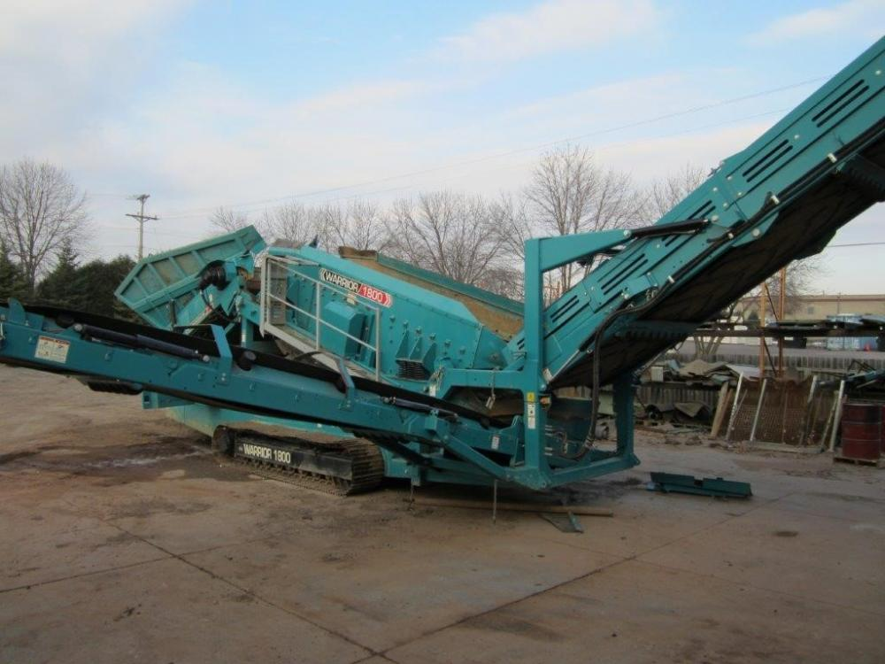 2013 Powerscreen WARRIOR 1800 For Sale (19902709) from Theco Inc