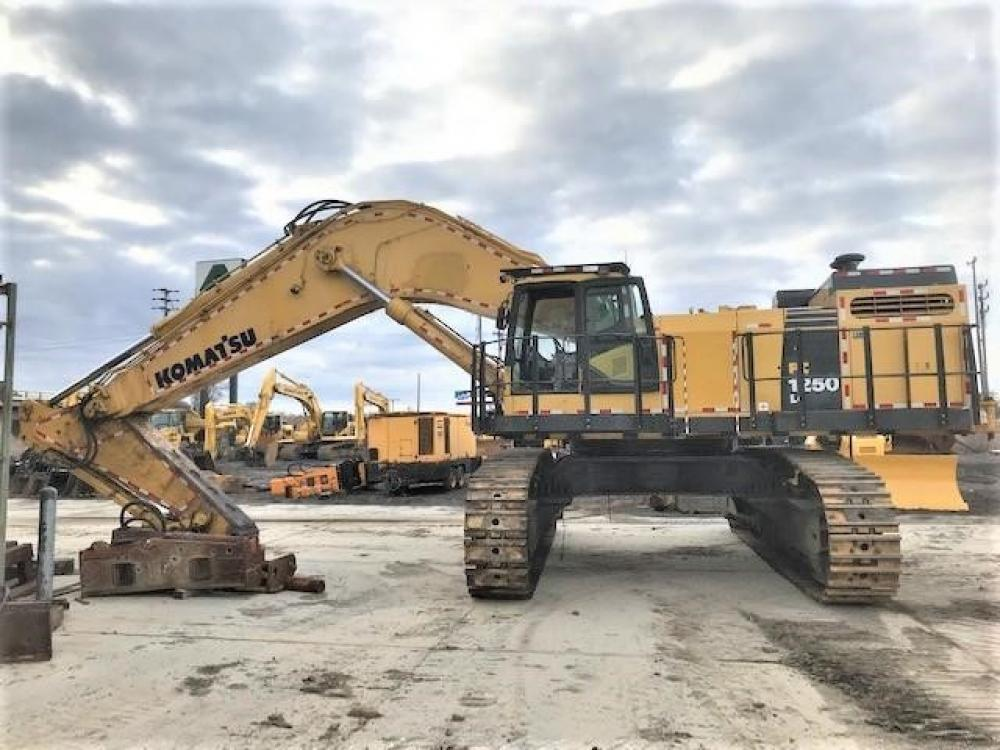 Detail photo of 2014 Komatsu PC1250LC-8 from Construction Equipment Guide