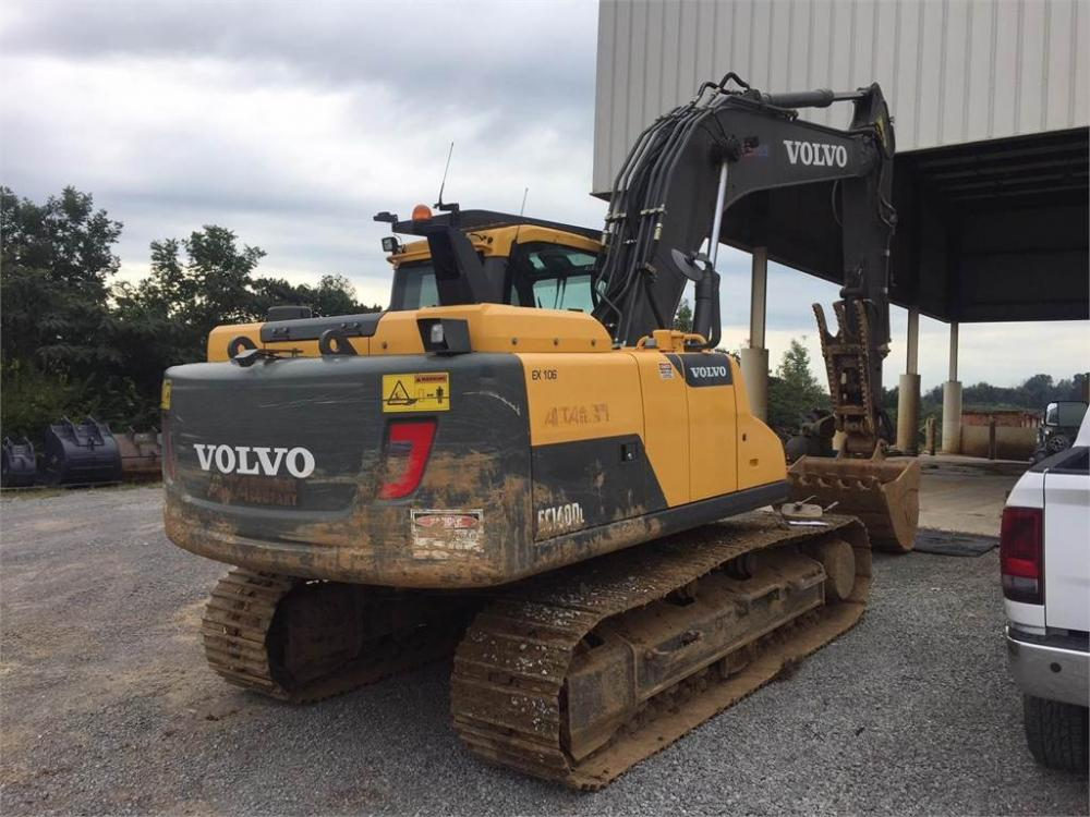Detail photo of 2015 Volvo EC160DL from Construction Equipment Guide