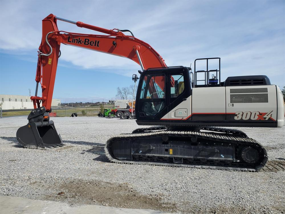 Detail photo of 2020 Link-Belt 300 X4 from Construction Equipment Guide