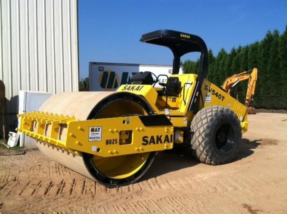 Detail photo of 2013 Sakai SV540T from Construction Equipment Guide