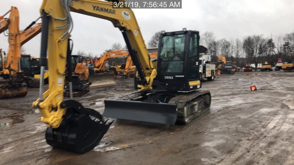 Detail photo of 2019 Yanmar SV100-2A from Construction Equipment Guide