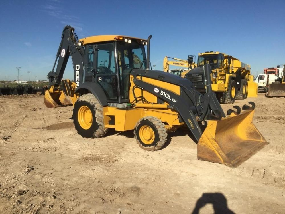 Detail photo of 2017 John Deere 310L EP from Construction Equipment Guide