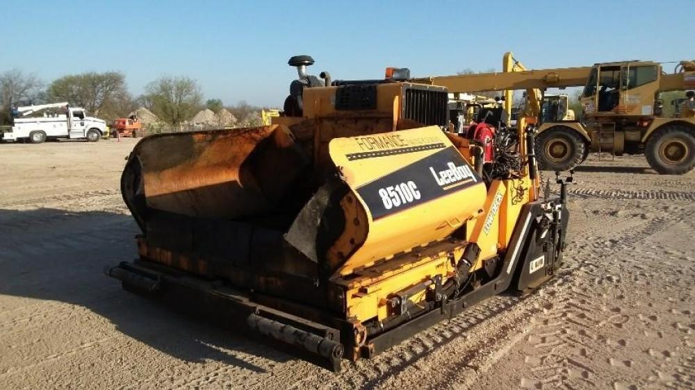 Detail photo of 2014 LeeBoy 8510C from Construction Equipment Guide