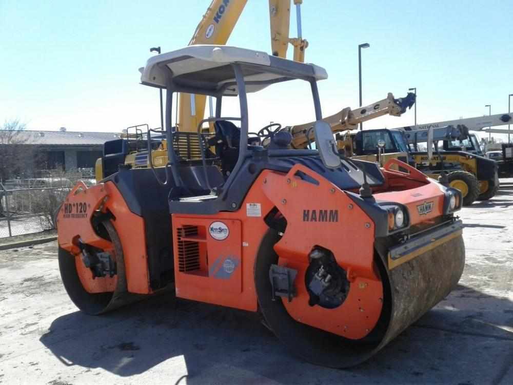 Detail photo of 2011 Hamm HD 120VVHF from Construction Equipment Guide