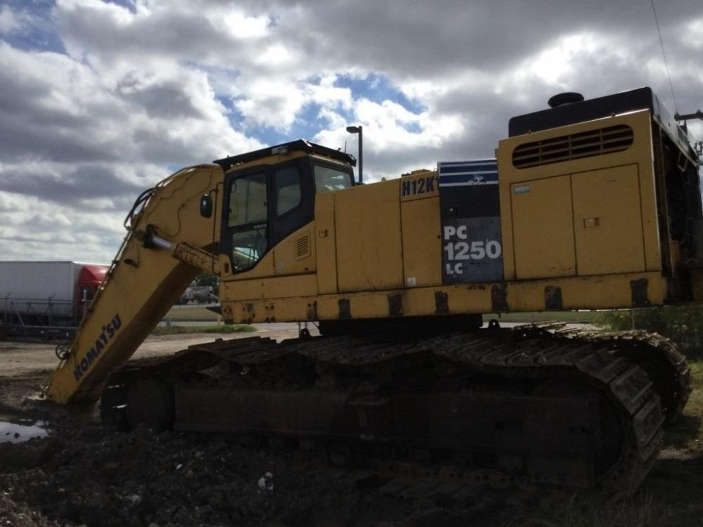 Detail photo of 2007 Komatsu PC1250LC-8 from Construction Equipment Guide