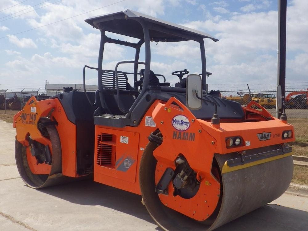 Detail photo of 2010 Hamm HD+ 140VO from Construction Equipment Guide
