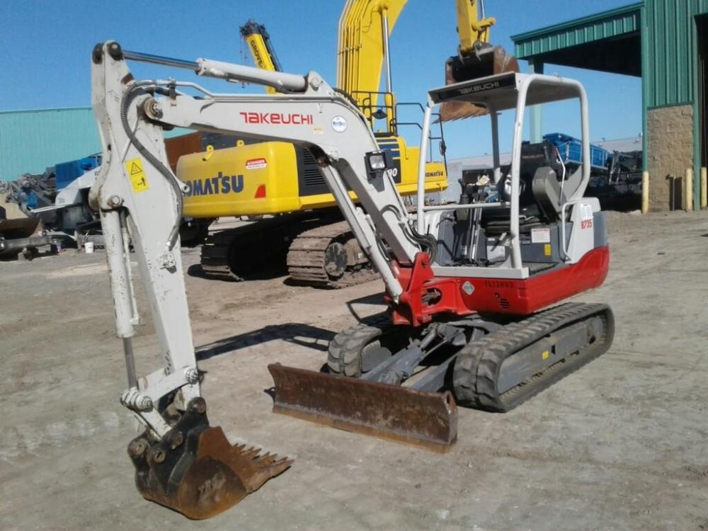 Detail photo of 2013 Takeuchi TB235 from Construction Equipment Guide