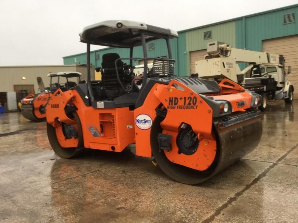 Detail photo of 2012 Hamm HD 120VVHF from Construction Equipment Guide