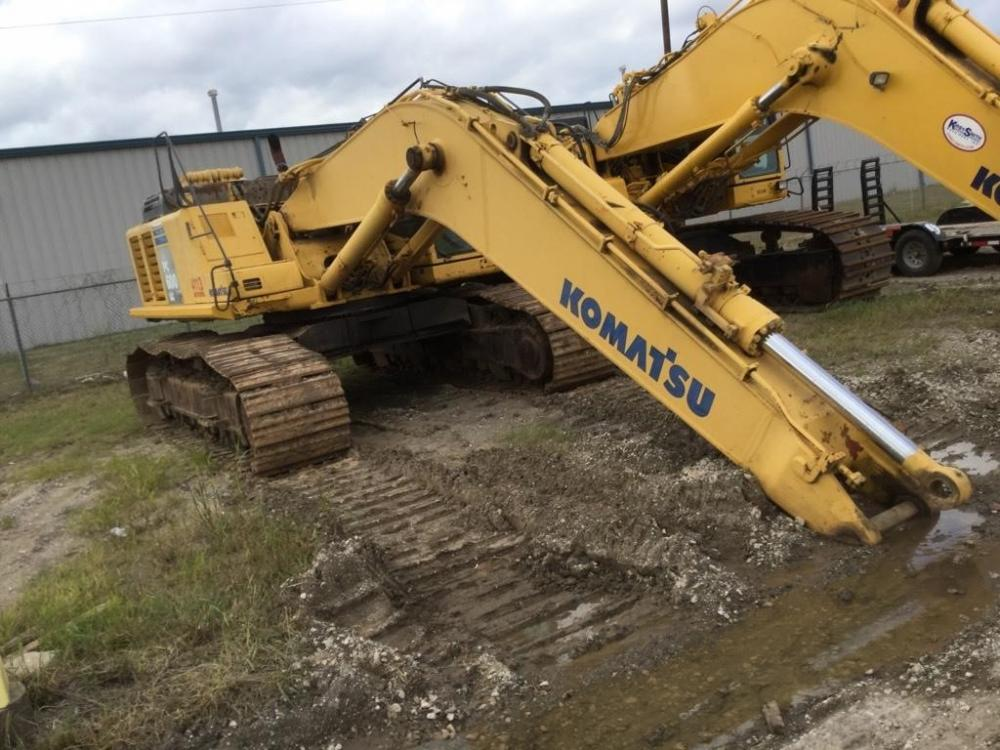 Detail photo of 2006 Komatsu PC600 LC-8 from Construction Equipment Guide