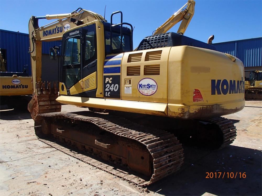 Detail photo of 2012 Komatsu PC240LC-10 from Construction Equipment Guide