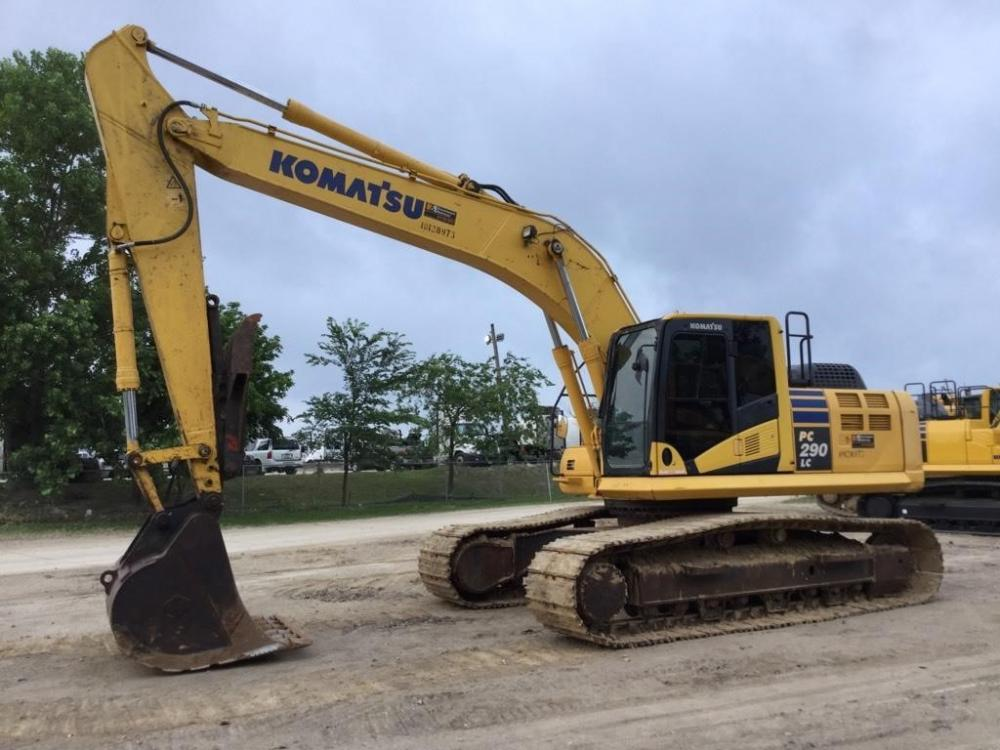 Detail photo of 2014 Komatsu PC290 from Construction Equipment Guide
