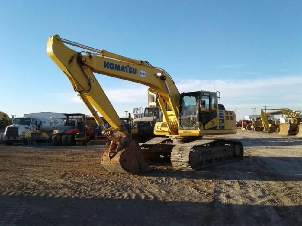 Detail photo of 2012 Komatsu PC290LC-10 from Construction Equipment Guide