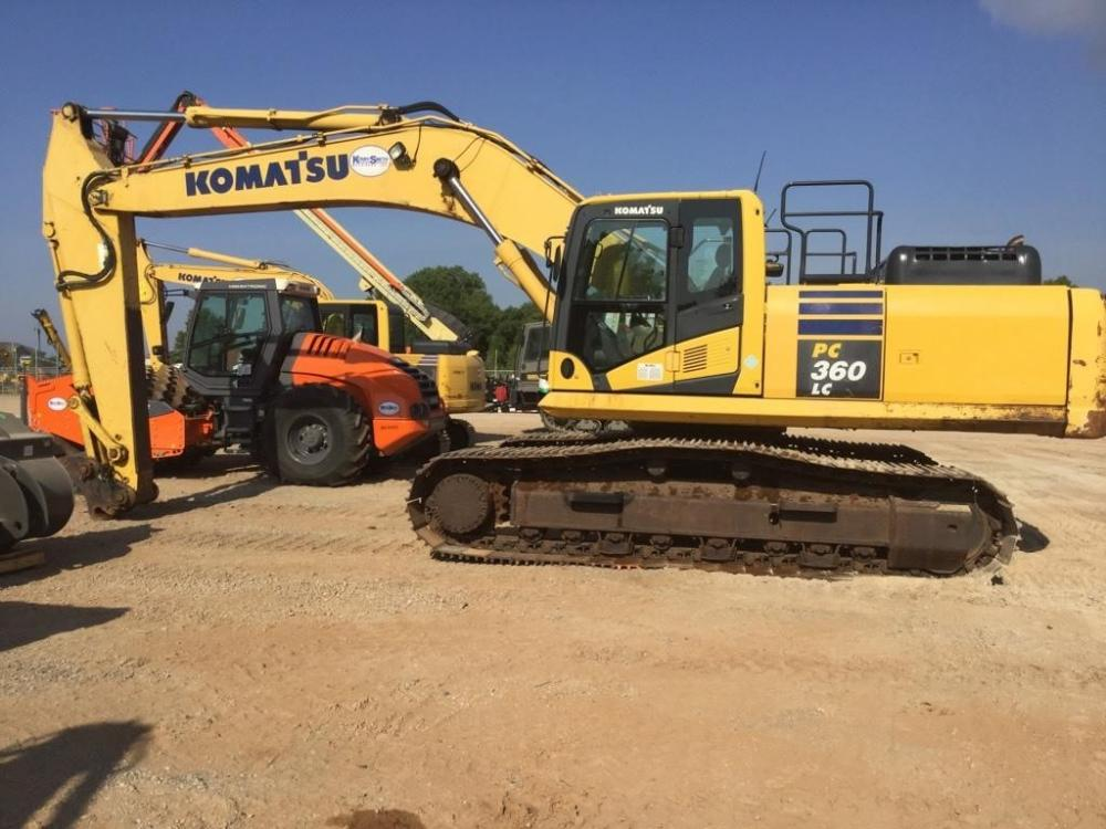 Detail photo of 2013 Komatsu PC360LC-10 from Construction Equipment Guide