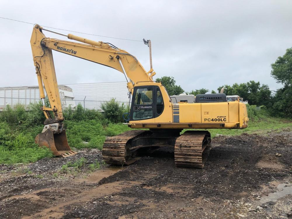Detail photo of 1996 Komatsu PC400LC-6 from Construction Equipment Guide