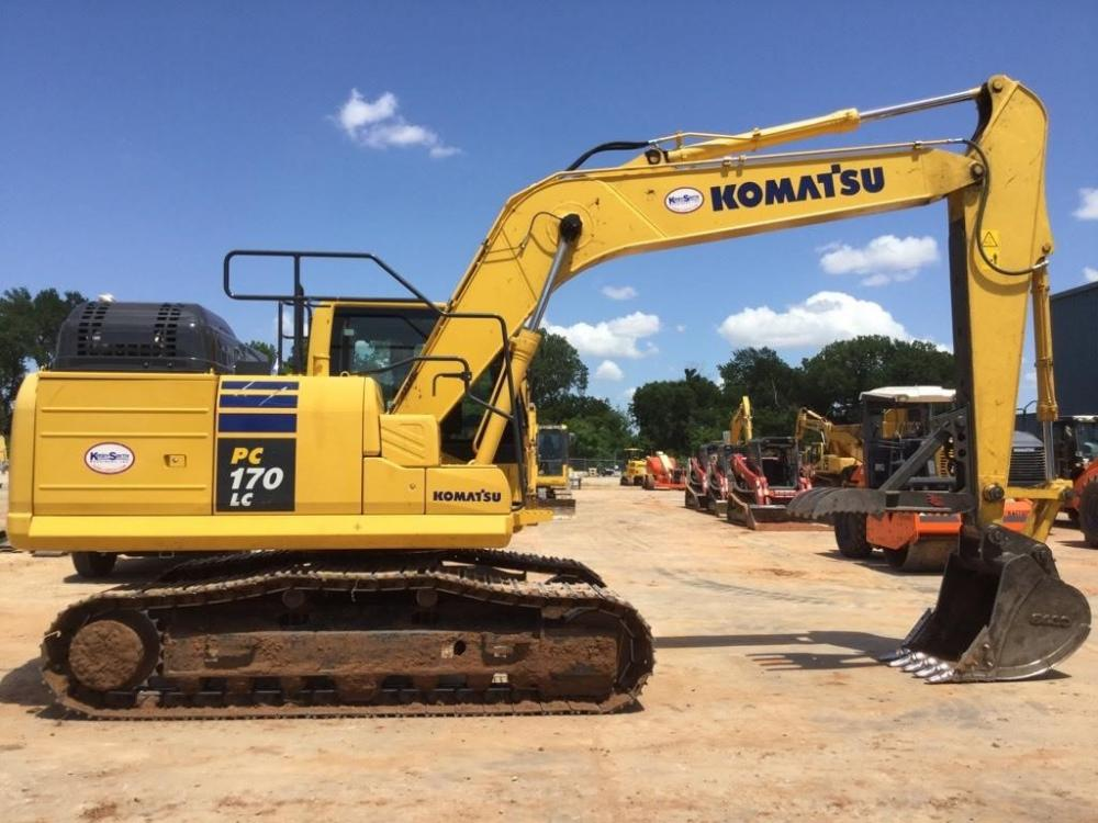Detail photo of 2017 Komatsu PC170LC-11 from Construction Equipment Guide