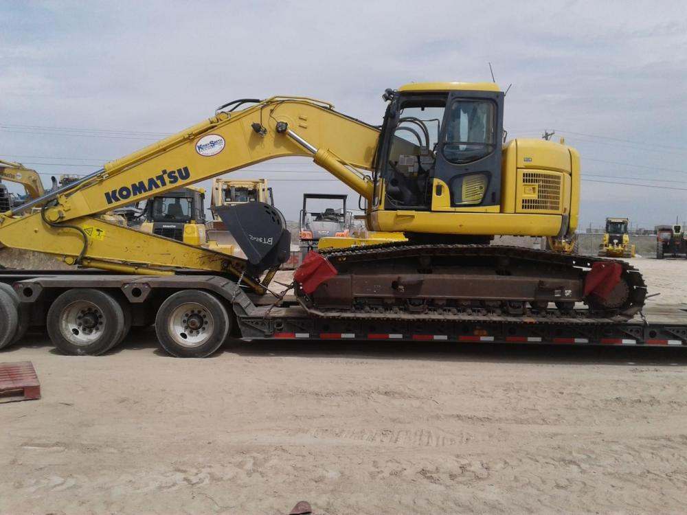 Detail photo of 2012 Komatsu PC228USLC-8 from Construction Equipment Guide