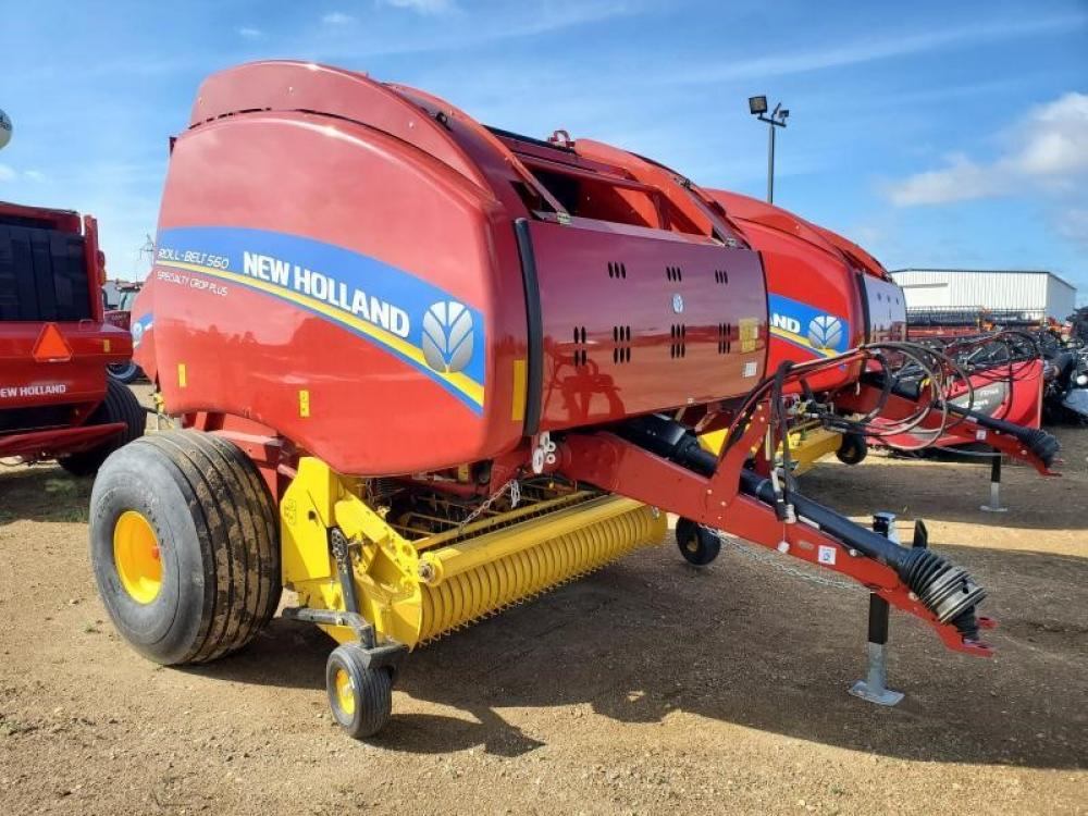 Detail photo of 2020 New Holland ROLL-BELT 560 from Construction Equipment Guide