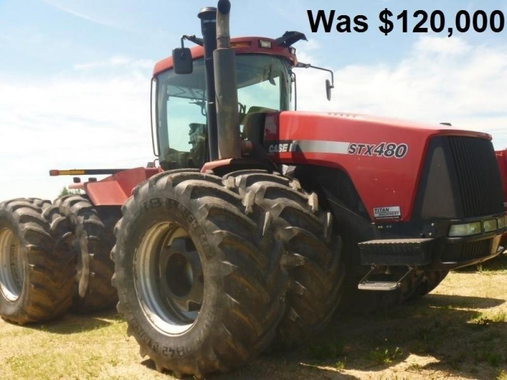 Detail photo of 2006 Case IH STEIGER STX 480 from Construction Equipment Guide