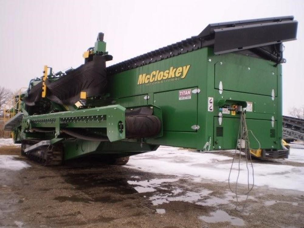 Detail photo of 2015 McCloskey S190 from Construction Equipment Guide