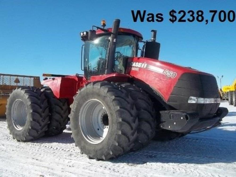 Detail photo of 2013 Case IH STEIGER 550 QUADTRAC from Construction Equipment Guide