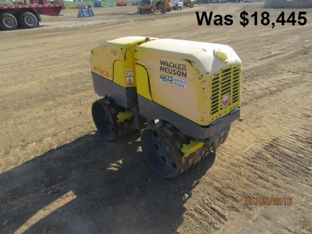 Detail photo of 2011 Wacker Neuson RT 820 from Construction Equipment Guide