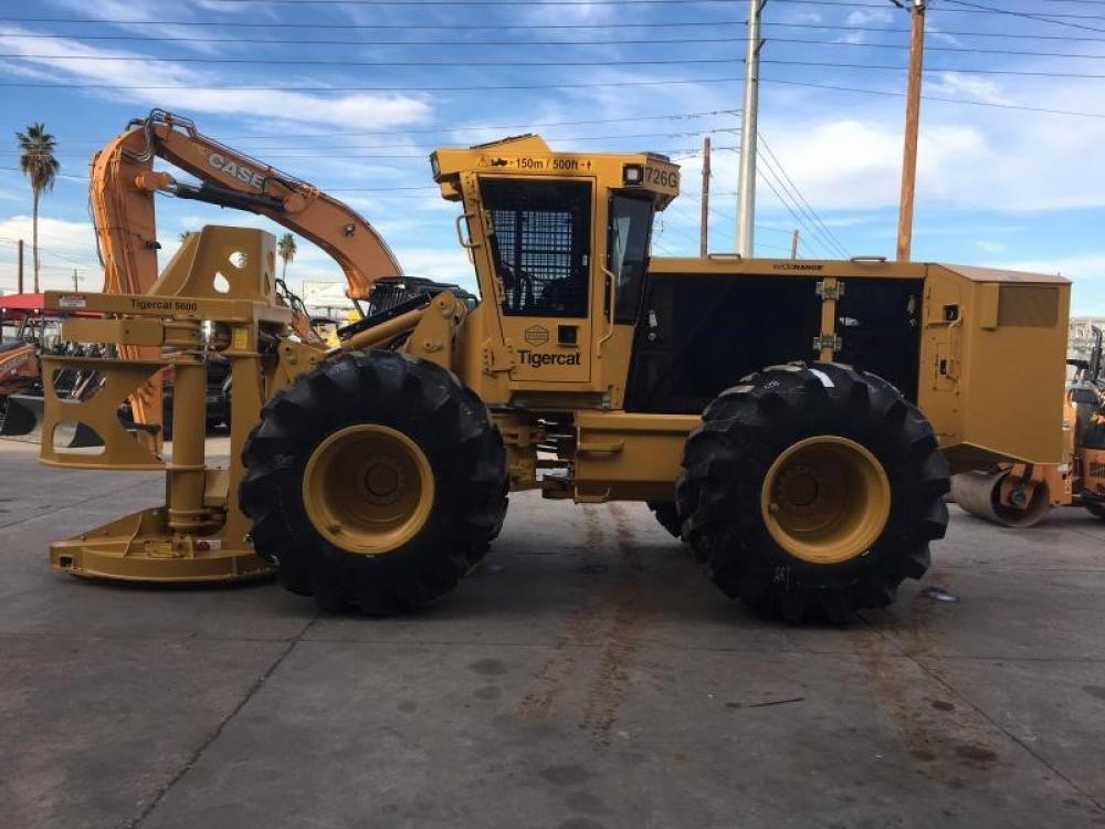 Detail photo of 2017 Tigercat 726G from Construction Equipment Guide