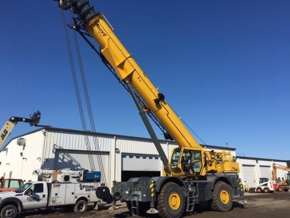 Detail photo of 2017 Grove GRT8100 from Construction Equipment Guide