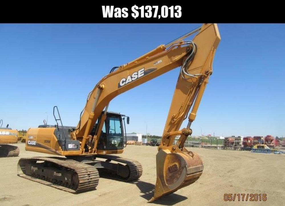 Detail photo of 2012 Case CX210B from Construction Equipment Guide