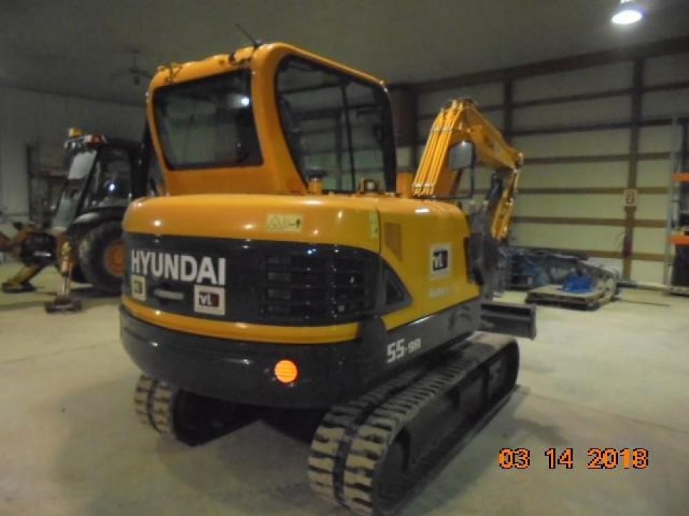 Detail photo of 2016 Hyundai ROBEX 55-9A from Construction Equipment Guide