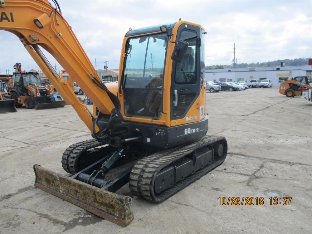 Detail photo of 2013 Hyundai ROBEX 60CR-9 from Construction Equipment Guide