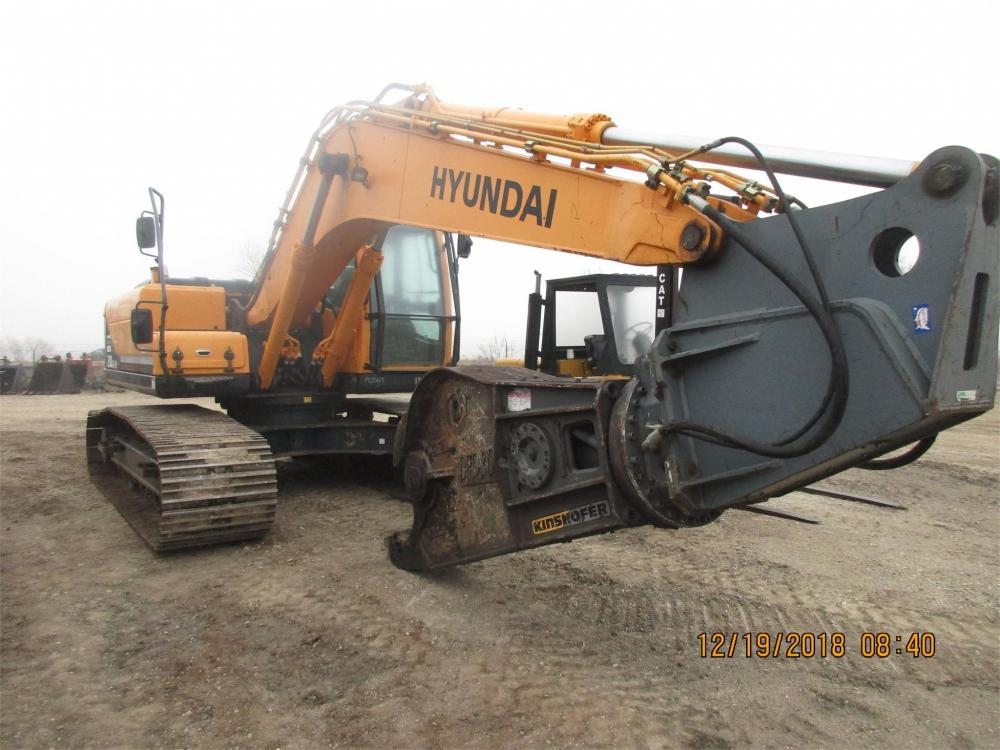Detail photo of 2013 Hyundai ROBEX 210 LC-9 from Construction Equipment Guide