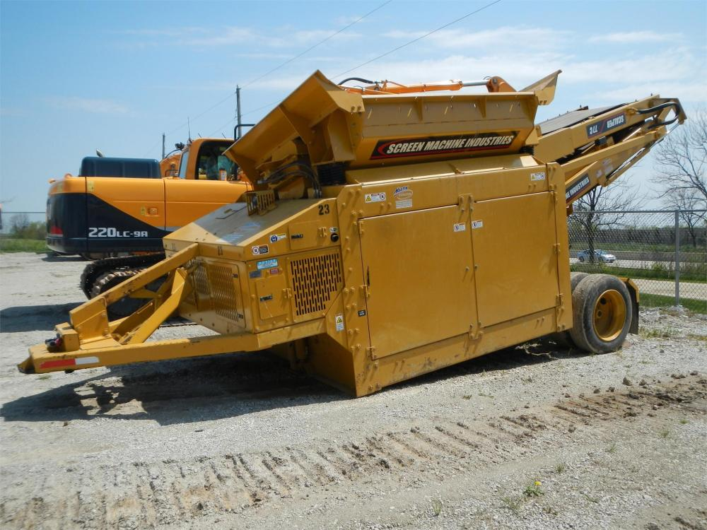Detail photo of 2014 Screen Machine SCALPER 77C from Construction Equipment Guide