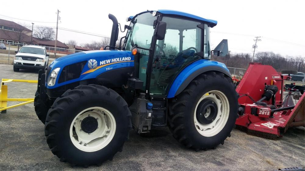Detail photo of 2016 New Holland T4.110 from Construction Equipment Guide