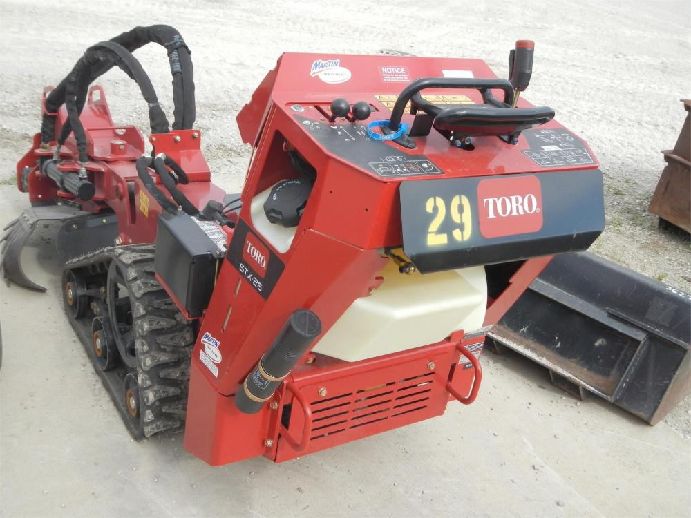 Detail photo of 2016 Toro STX26 from Construction Equipment Guide
