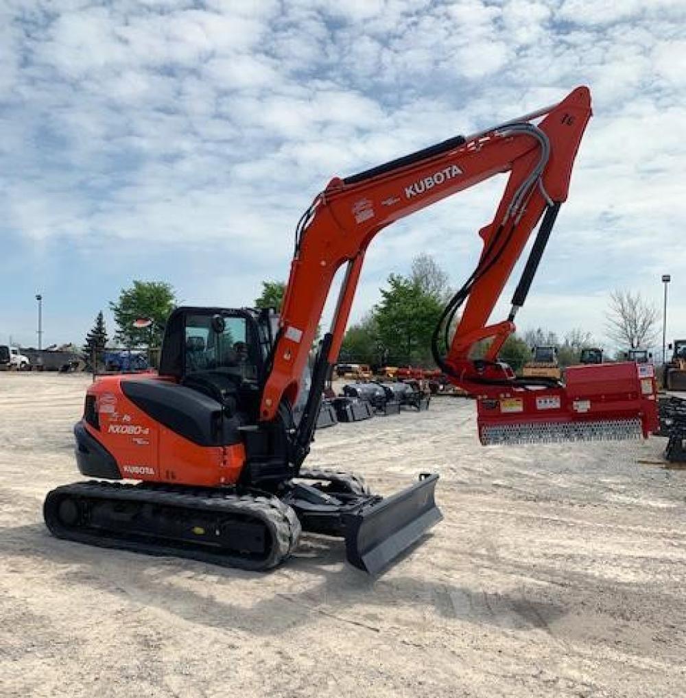 Detail photo of 2019 Kubota KX080 from Construction Equipment Guide