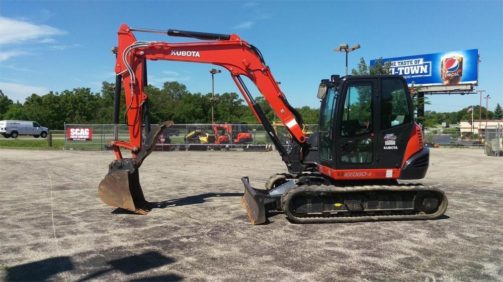 Detail photo of 2014 Kubota KX080-4 from Construction Equipment Guide
