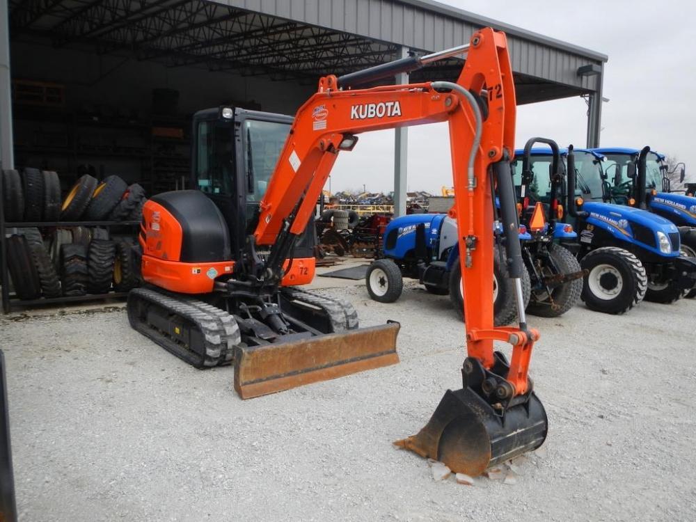 Detail photo of 2018 Kubota KX040-4 from Construction Equipment Guide
