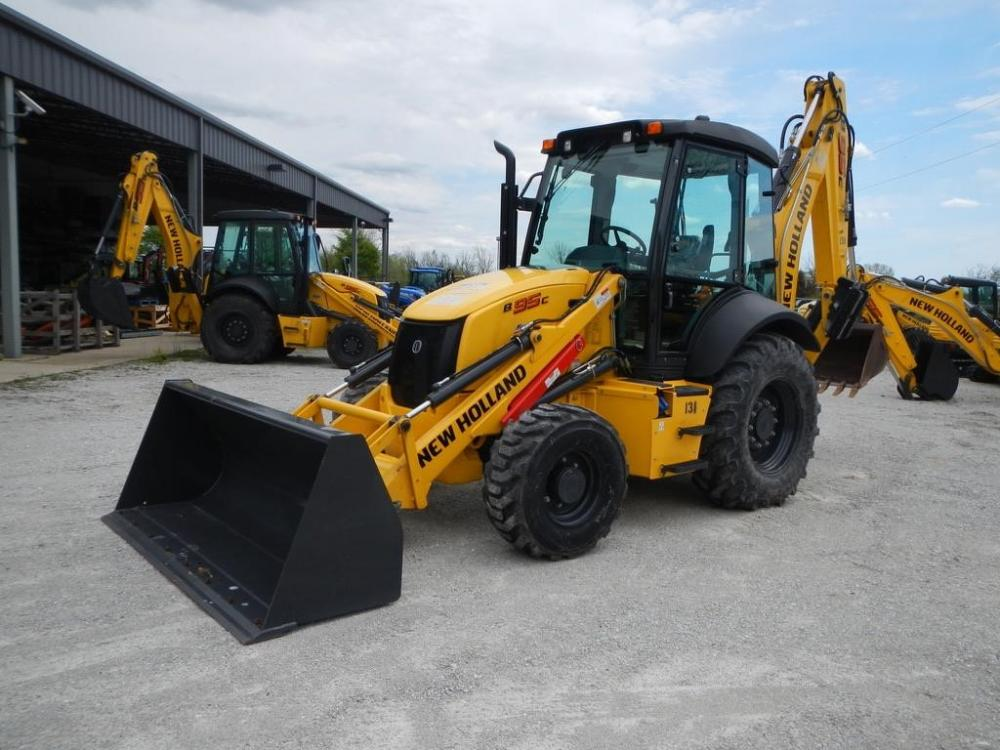 Detail photo of 2018 New Holland B95C from Construction Equipment Guide