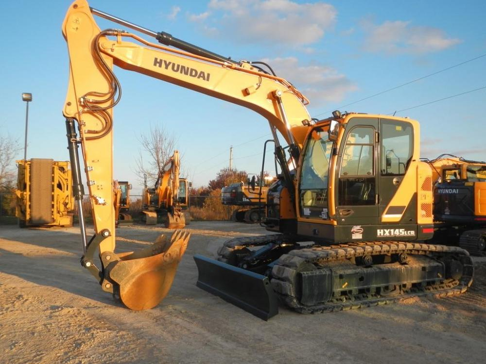 Detail photo of 2017 Hyundai HX145LCR from Construction Equipment Guide