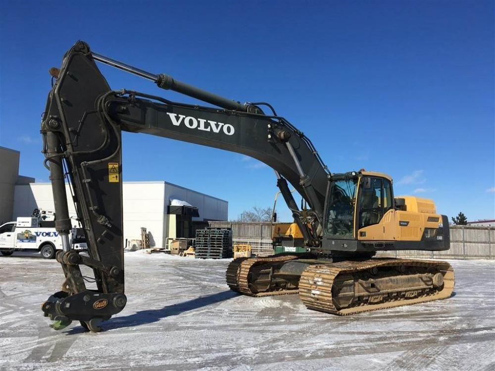 Detail photo of 2011 Volvo EC480DL from Construction Equipment Guide