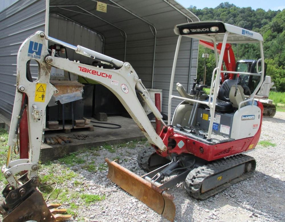 Detail photo of 2014 Takeuchi TB216R from Construction Equipment Guide