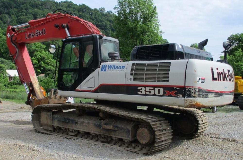 Detail photo of 2014 Link-Belt 350 X3 from Construction Equipment Guide