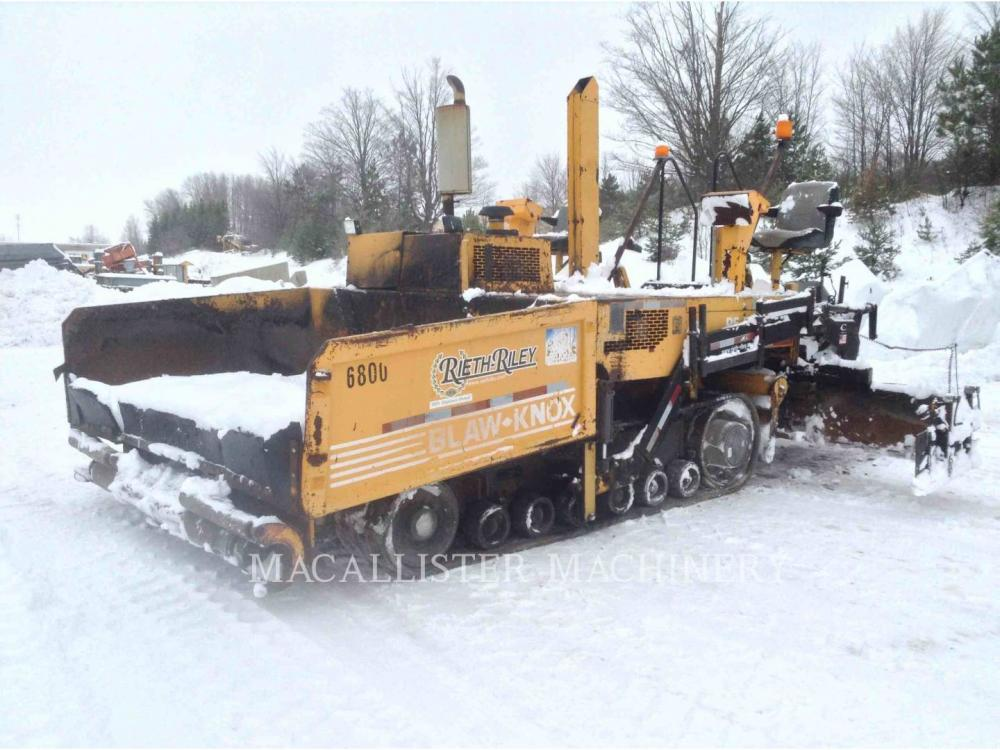 Detail photo of 2001 Blaw Knox PF5510 from Construction Equipment Guide