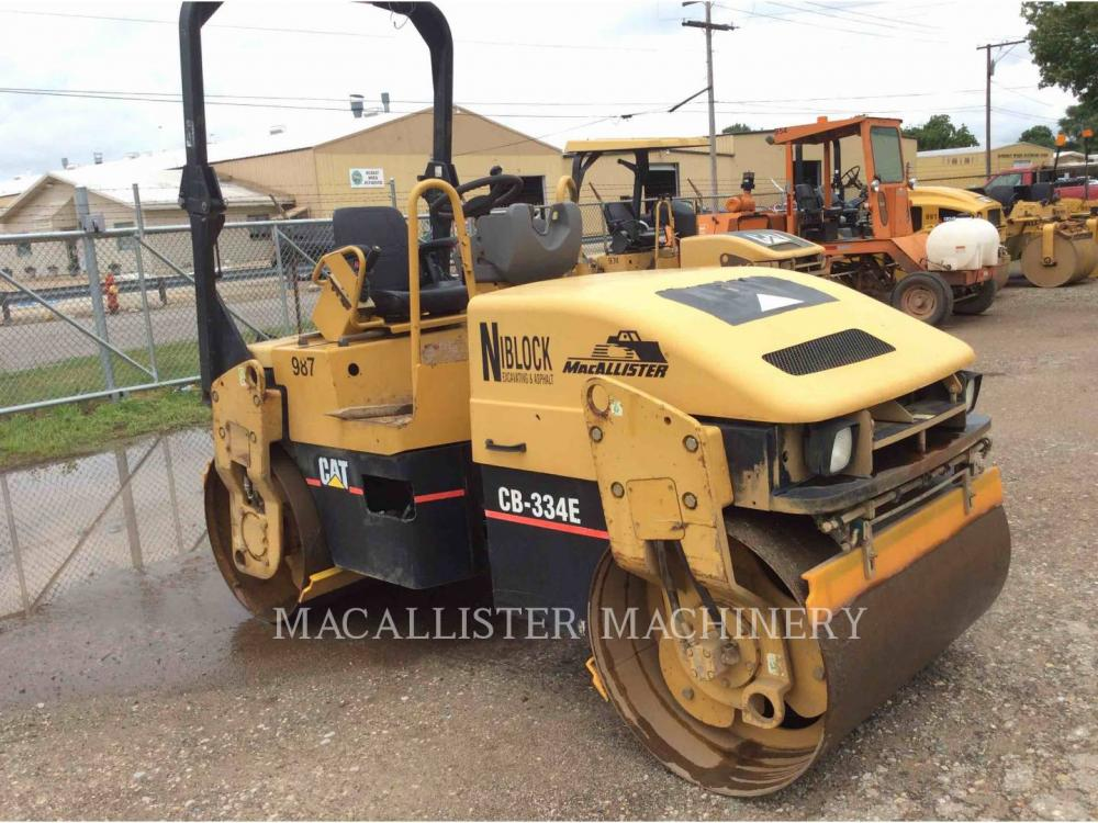 Detail photo of 2005 Caterpillar CB334E from Construction Equipment Guide