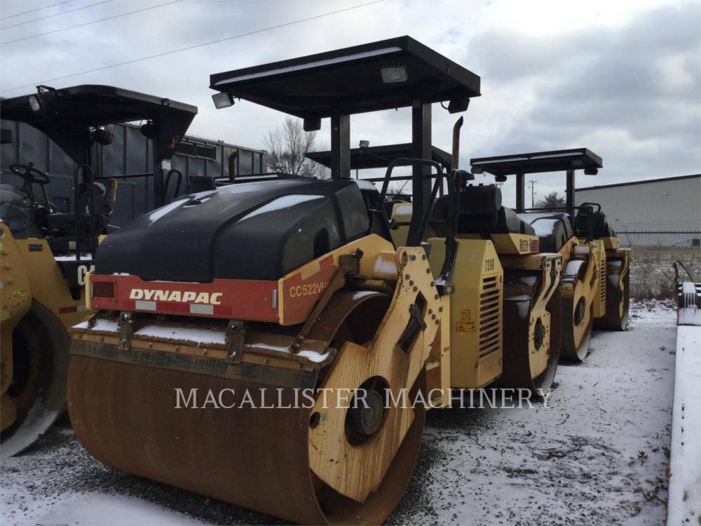 Detail photo of 2006 Dynapac CC522VHF from Construction Equipment Guide