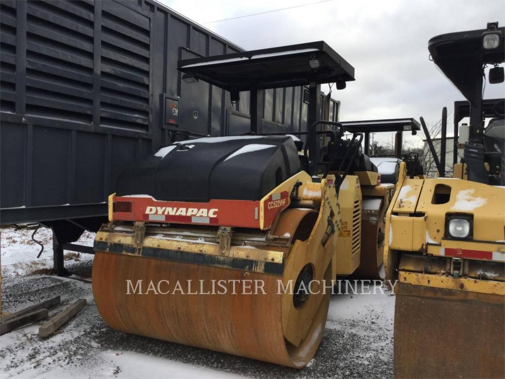 Detail photo of 2007 Dynapac CC522VHF from Construction Equipment Guide