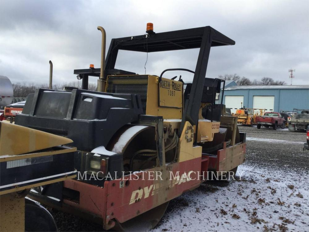Detail photo of 2006 Dynapac CC722 from Construction Equipment Guide