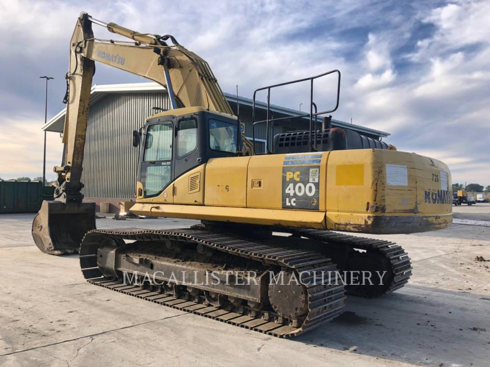 Detail photo of 2005 Komatsu PC400LC-7L from Construction Equipment Guide